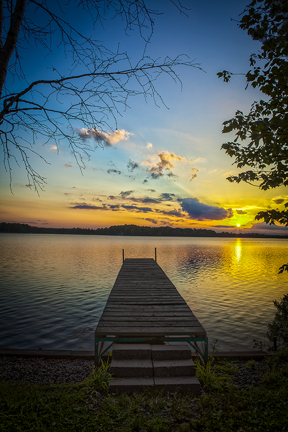 Dock at Torchlight Lake #3