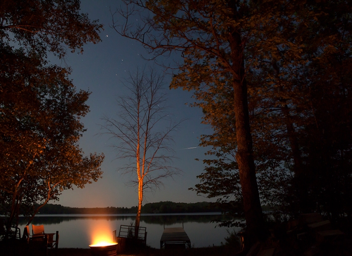 Torchlight Lake after sunset
