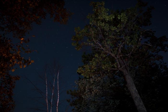Torchlight Lake at midnight