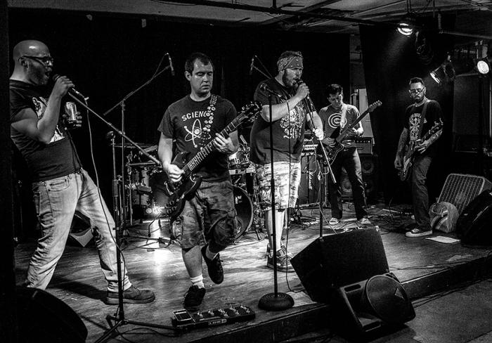 Radio Hate performs at Stage Works, Sheboygan